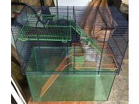 Gerbil/Hamster cage - 2 levels