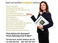Expert advice on Visa and Immigration /Personal Injury Claim