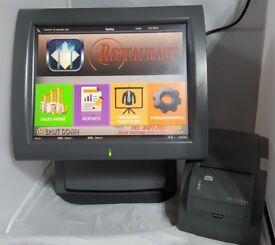 Aures 15' TouchScreen EPOS System Posligne Galeo Setup for Retail or Hospitality