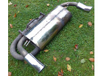 Rare MGF MG TF MGTF Performance Milltek Stainless Exhaust + Catalytic Converter