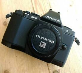 Olympus OM-D E-M5 with New Lowpro Camera bag