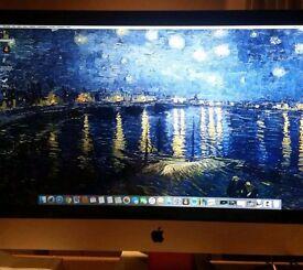 """Apple iMac 27"""" 2010 i5 2.8 GHz 1TB HDD 4GB Ram"""