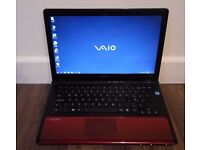 GAMING LAPTOP SONY VAIO INTEL P7450,NVIDIA GT 230M 2GB,14.1 HD LED,DVDRW,MS OFFICE,SSD IF YOU NEED