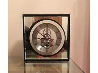 As new M and S contemporary clock