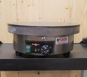 Used Krampouz Crepe Maker - Electric Commercial Crepe Machine