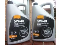 Halfords Fully Synthetic Engine oil 5w/40w