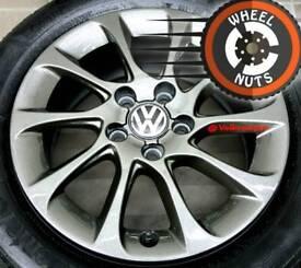 "16"" Genuine alloys VW Golf Caddy perfect cond premium tyres."
