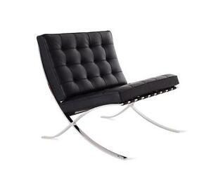 Barcelona Chair 1 Seater - Full Italian Genuine Leather