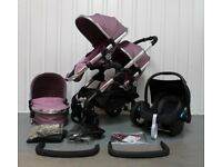 iCandy Peach 3 Marshmallow for Newborn and Toddler Full Travel System