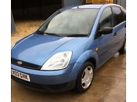 Ford Fiesta 5 door with Air Conditioning