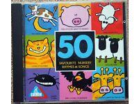 50 Favourite Nursery Rhymes & Songs [CD]