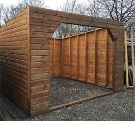 12ft x 12ft field shelter, horse stable.