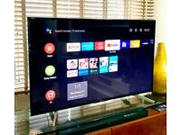 """49"""" 4K Android Sony Ultra HD Led tv Excellent Condition"""
