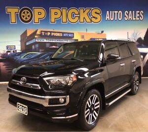 2016 Toyota 4Runner LIMITED, 7 Passenger, 4x4, Accident Free & M