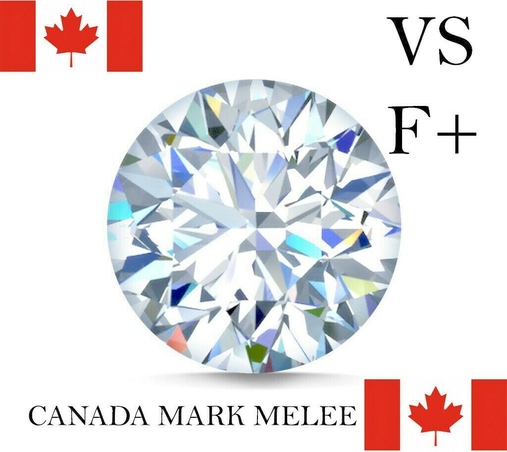 LOT Natural Finest Canada Diamond Melee - Round - VVS2-VS1-Flawless+GIA Screened