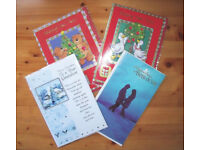 * NEW * 4 (2 of each) Christmas, Xmas (Grandson & Both of You) & New Year Cards. £3 lot or separate