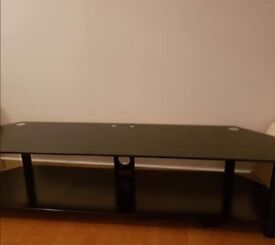 Curry's pc world glass TV bench