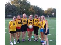 GS/GA needed for competitive netball team in SW6.