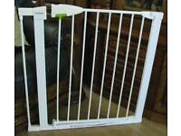 Lindam Safety Gate with Extension Section.