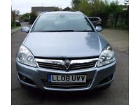 VAUXHALL ASTRA AUTOMATIC 1.8 ESTATE. 08 PLATE