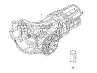 AUDI 6 SPEED MANUAL GEARBOX CODE GYX 2.0 TDI BLB BRE A4 A6 33,000 MILES