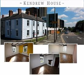 "Darlington TOWN CENTRE in ""Offices on Kendrew"", easy in, easy out, free Internet"