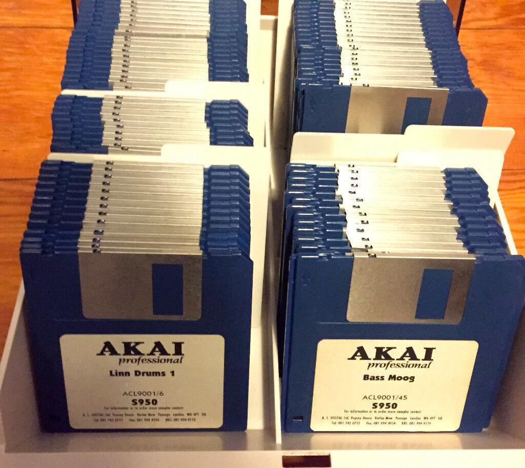 akai s950 manual download