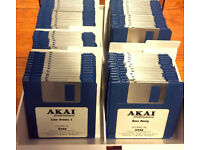 100 Akai S950 Sound Library Images For HxC Floppy Emulator .hfe Format