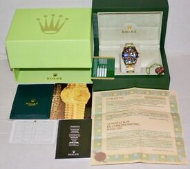 New Rolex Box And Accesories
