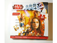 Star Wars Panoramic Jigsaw Puzzle 48 pieces