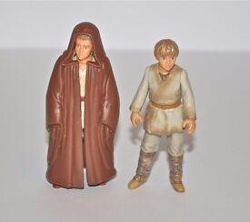 'Anakin Skywalker' Star Wars x 2 Action Figures, Hasbro 1999