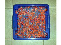 Box Of Coloured Aquarium / Fish Tank Gravel.