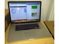 MacBook Pro 17 1920x1200 Core i5 2.53GHz 8GB RAM SSD 250GB High Sierra + MS Office 2016 installed