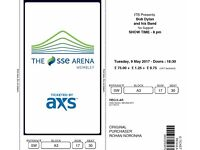 Selling 2 floor tickets to Bob Dylan @ Wembley Arena London (9th May) - Best Section (A3)!