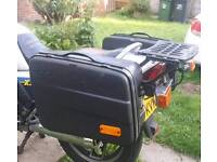 KRAUSER PANNIERS AND RACK 1980'S