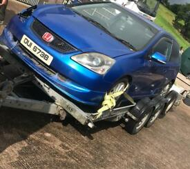 Honda Civic for breaking