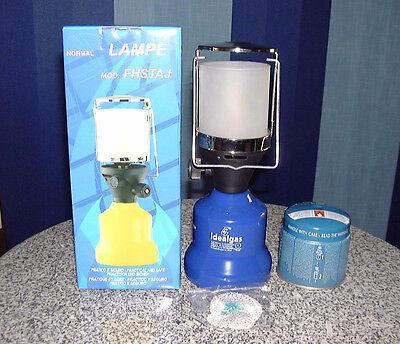 Lámpara de Camping Metal Lámpara de Gas Linterna para Camping + Cartucho