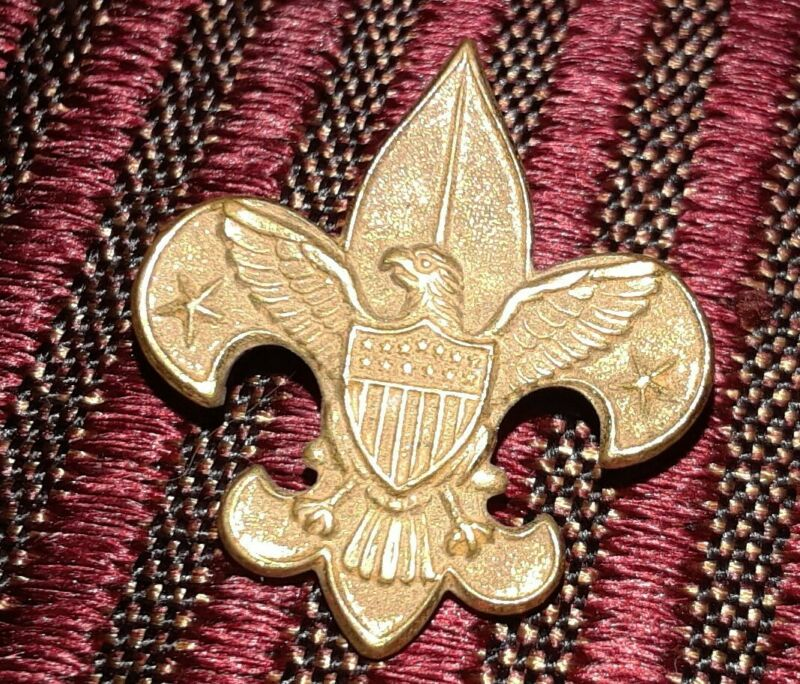 Vintage Boy Scouts of America pat 1911 pin GREAT CONDITION