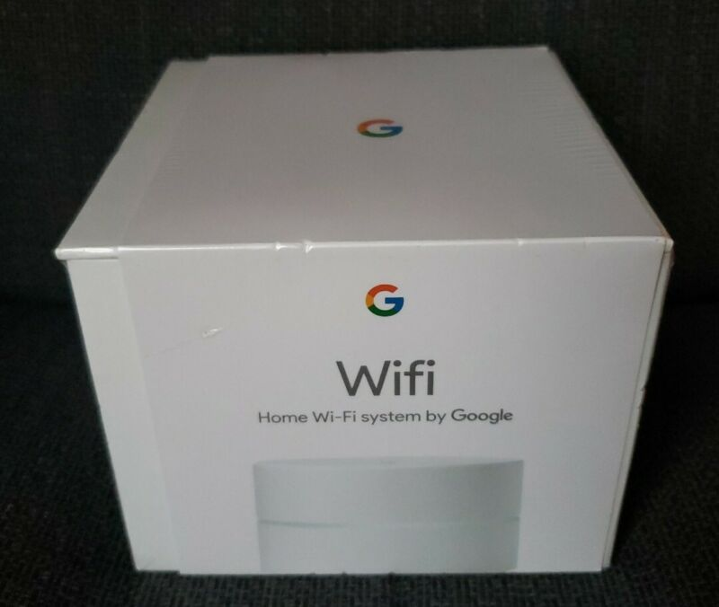 Brand New Factory Sealed Google Wi-Fi AC-1304 1 Port 1200Mbps Wireless Router
