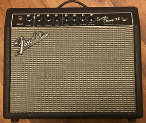 Fender Super Champ XD - LOUD 15W Tube Output - As New!!