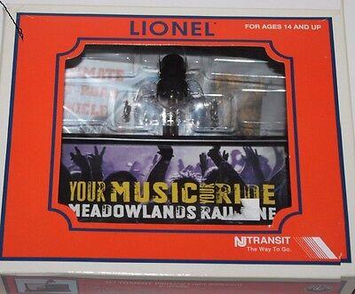 Lionel Nj Transit Blinking Light Billboard  6 37986 New