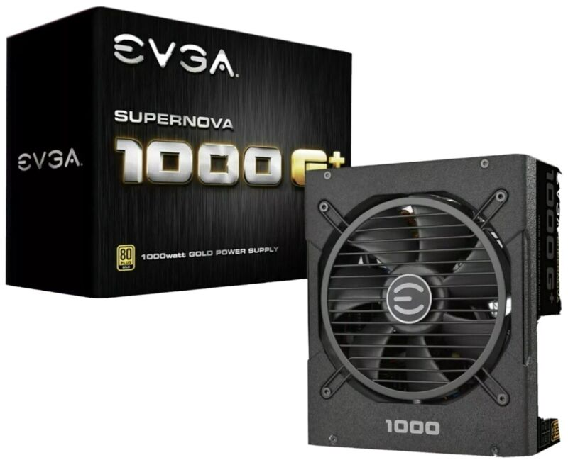 EVGA - GP Series SuperNOVA 1000W ATX 80 Plus Gold Fully Modular Power Supply
