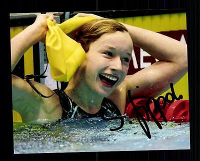 Silke Lippok Foto Original Signiert Schwimmen + A 134787