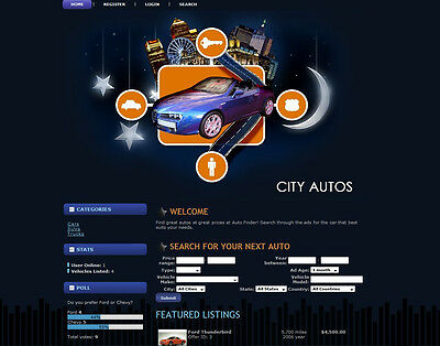 Automated Cars Trucks Suvs Bikes Classified Ads Website Business For Sale