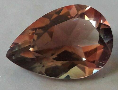 5.08 ct Multi Color Sunstone, Bright 15 x 10 Pear Cut