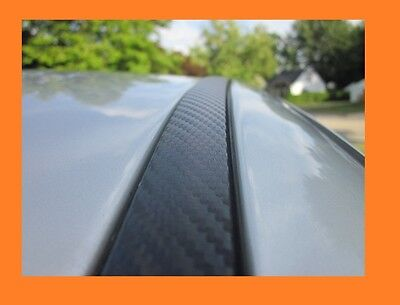 Carbon Fiber Side Roof Molding Trim 2pc For Cadillac Models