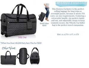 Thirty-one Rolling Duffle Bag, NEW in package