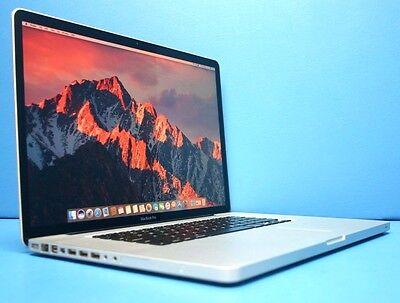 "Apple MacBook Pro 17"" 2010 A1297 Laptop-i5@2.53GHz-8GB-1TB SSHD-DVDRW-Sierra!!!"