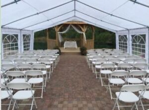 Tent rentals for events! Rent tables and chairs