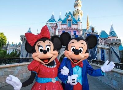 DISNEYLAND PARK HOPPER 2 TO 5 DAY + MAGIC MORNING Ticket Promo Discount SAVE